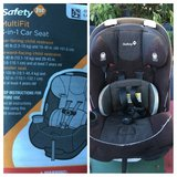 Safety 1st car seat in Schofield Barracks, Hawaii