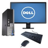 "Dell Desktop with 19"" mon, speakers kb, mouse, wifi, win 10 in Vacaville, California"