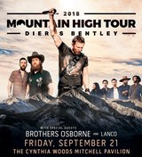 (2/4) DIERKS BENTLEY 6th Row Concert Tickets - Fri, Sept. 21 - BELOW COST! in Pasadena, Texas