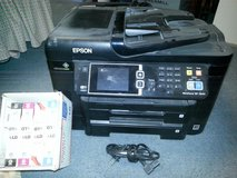 Epson Printer with 8 Full/New Ink Cartridges in Fort Lewis, Washington