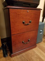 Wood File Cabinet, no key in Kingwood, Texas