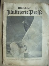 1932 German Newspaper (Muenchner Illustrierte Presse) in Stuttgart, GE
