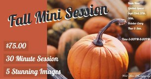 Fall Mini Session in Fort Lewis, Washington