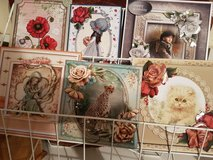 Handmade Decoupage Greeting Cards in Lakenheath, UK