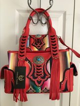 COWGIRL TRENDY AZTEC w/FRINGE PURSE & WALLET SET in Ruidoso, New Mexico