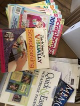 lot of scrapbooking books & magazines in Perry, Georgia