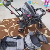 Double stroller/sit and stand stroller in Clarksville, Tennessee
