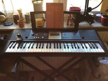 Yamaha Psr-e223/ypt-220 digital keyboard with stand 100-240 v in Ramstein, Germany