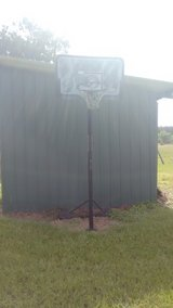 basketball goal in Fort Polk, Louisiana