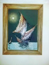 Two oil paintings in beautiful frames in Pensacola, Florida
