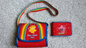 Care Bears Purse & Wallet 1983 in Bolingbrook, Illinois