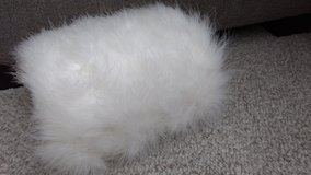 White feather muff in Glendale Heights, Illinois