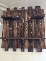 FARMHOUSE COAT RACK & SHELF in Warner Robins, Georgia
