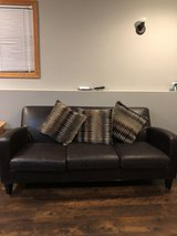 Brown Sofa/couch in Joliet, Illinois
