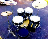 $280 MAPEX FULL SIZE DRUM SET W/SABIAN CYMBALS + EXTRAS!! (read ad) in Joliet, Illinois