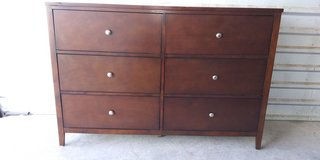 Solid wood tall dresser with 6 huge drawers in El Paso, Texas