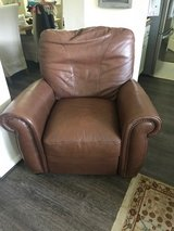 Leather recliner (REDUCED to sell!!) in The Woodlands, Texas