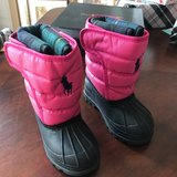 Ralph Lauren Polo Size 6 Toddler Girl Snowboots in Glendale Heights, Illinois
