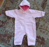 Baby Girl 70CM Hanna Andersson (6-12M) Snowsuit EUC in Glendale Heights, Illinois