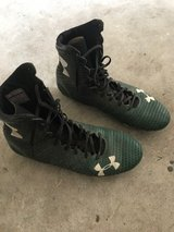 Under Armour Football Cleats - Green in The Woodlands, Texas