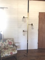 1950s antique stiffel tension pole lamp in Yucca Valley, California
