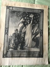 WWI Print in Plainfield, Illinois