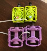 Purple /Green Bike Pedals in Yorkville, Illinois