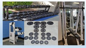 Gym equimpent weights in Lake Elsinore, California