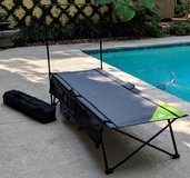(2)- Ozark Trail Instant Cots with Rack/Storage in Kingwood, Texas