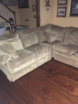 Gold Sectional Recliner/Sofa- FREE in Batavia, Illinois