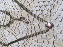 Vintage Silver Choker Dainty Triple Strand with Extension Napier Brand Looks New in Kingwood, Texas