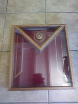 Marine Corp Shadow Box in 29 Palms, California