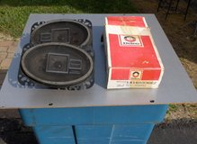 "PAIR OF NEW DELCO 4 X 6 "" SPEAKERS in Bartlett, Illinois"