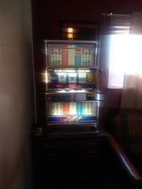 Red white and Blue Triple 7 Slot Machine in 29 Palms, California