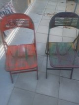 Vintage Folding Chairs in 29 Palms, California