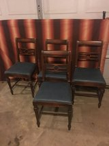 4 antique dining chairs in Fort Campbell, Kentucky