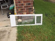 Doggie door made for your window  (adjustable around 38-42 inches) in Kingwood, Texas