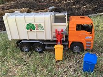 Bruder Side-loading Garbage Truck -1 left in Vacaville, California