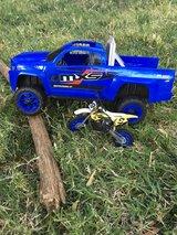 Toy Monster truck and Motorcycle Set in Vacaville, California