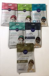 Lot of facial masks in Yucca Valley, California