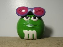 """Mars M&M's Galerie """"Eye Candy"""" Sunglasses Ceramic Candy Container Jar 6 1/2"""" Tall in Fort Campbell, Kentucky"""