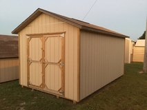 10'x16' Gable Deluxe Used in Fort Leonard Wood, Missouri