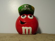 """Mars M&M's Galerie """"Major Attitude"""" Ceramic Candy Container Jar 8"""" Tall in Fort Campbell, Kentucky"""