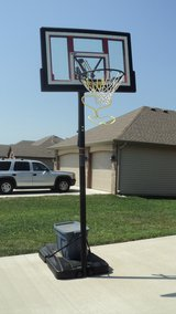 Portable Basketball Hoop in Lake of the Ozarks, Missouri