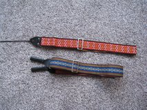 2 Vintage 1960s Guitar Straps in Glendale Heights, Illinois