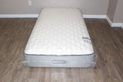 Twin Size Mattress- Beautyrest East Channel Firm Tight Top in CyFair, Texas