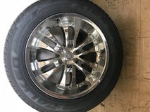 Cadillac- Set of 4 Rims w/tires in Westmont, Illinois