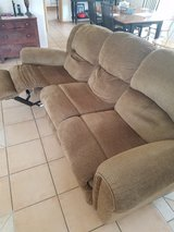 Three seater couch and love seat in Ramstein, Germany
