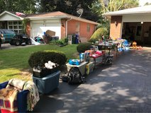 Garage Sale Thursday & Friday, 9 to 3 in Sandwich, Illinois