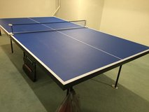 Table Tennis Table Like New in Westmont, Illinois